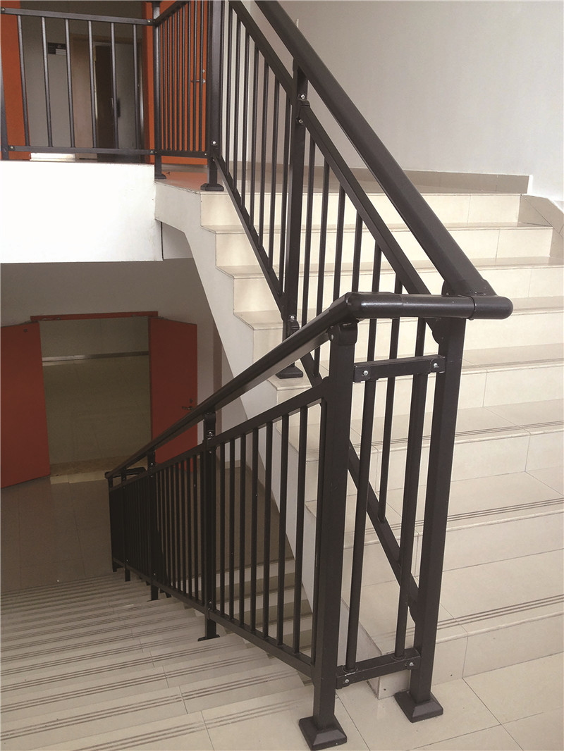 Indoor stair railing
